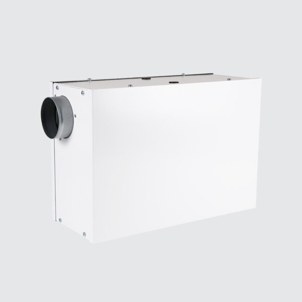 Intelligent Wall Mounted Positive Input Ventilation (PIV) Unit with Integral Multicore Heater